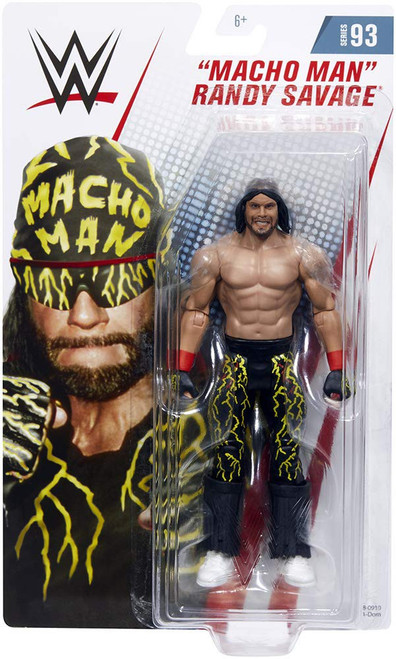 WWE Wrestling Series 93 Macho Man Randy Savage Action Figure