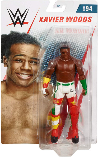 WWE Wrestling Series 94 Xavier Woods Action Figure