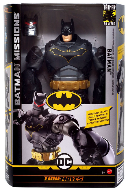 DC Batman Missions Batman (Thrasher Suit) Deluxe Action Figure [True Moves]