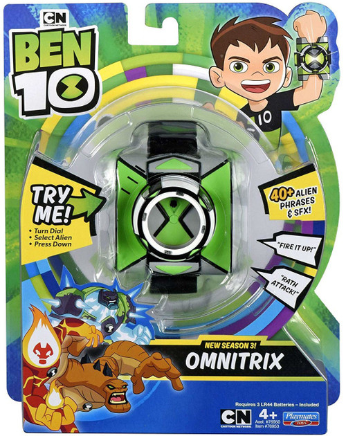 Ben 10 Omnitrix Roleplay Toy [Season 3]