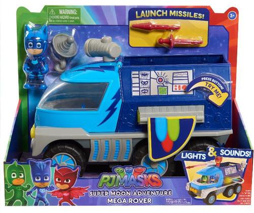 Disney Junior PJ Masks Super Moon Adventure Mega Rover Vehicle [Lights & Sounds]