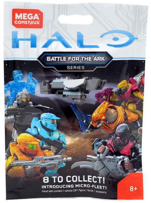 Halo Battle for the Ark Minifigure Mystery Pack [1 RANDOM Figure!]