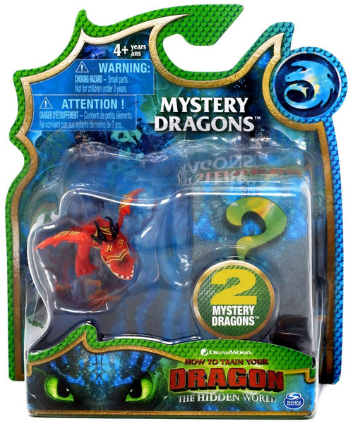 How to Train Your Dragon The Hidden World Mystery Dragons Hookfang Mystery 2-Pack