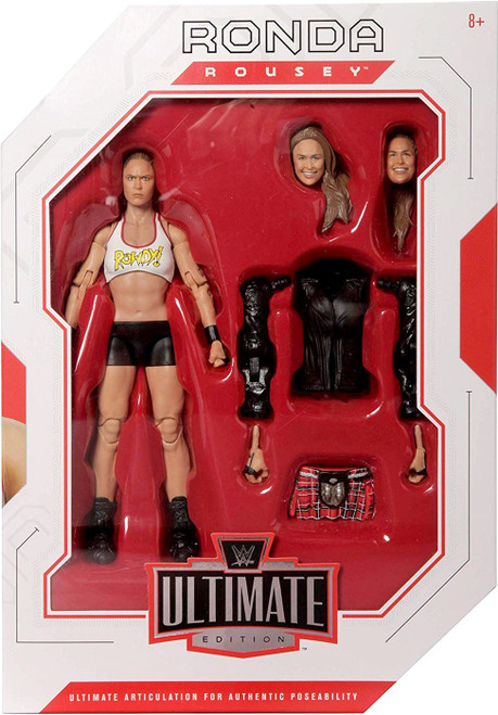 WWE Wrestling Ultimate Edition Ronda Rousey Action Figure
