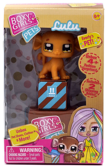 Boxy Girls Pets LuLu Mini Doll