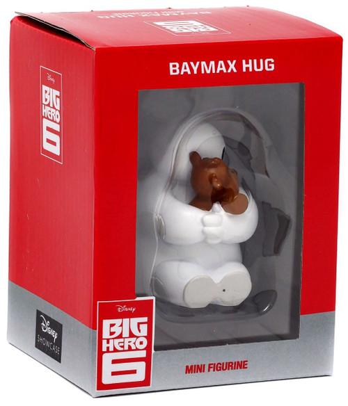 Disney Big Hero 6 Baymax Hug Baymax with Teddy Bear 3-Inch Mini Figurine