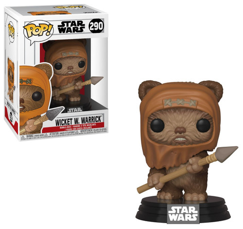 Funko Return of the Jedi POP! Star Wars Wicket Vinyl Figure #290
