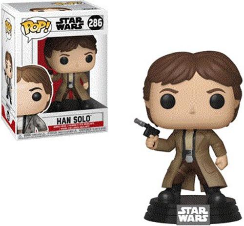 Funko Return of the Jedi POP! Star Wars Han Solo Vinyl Figure #286 [Endor, With Gun Drawn]