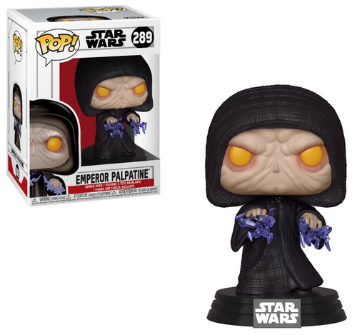 Funko Return of the Jedi POP! Star Wars Emperor Palpatine Vinyl Figure #289 [Electric Charge]