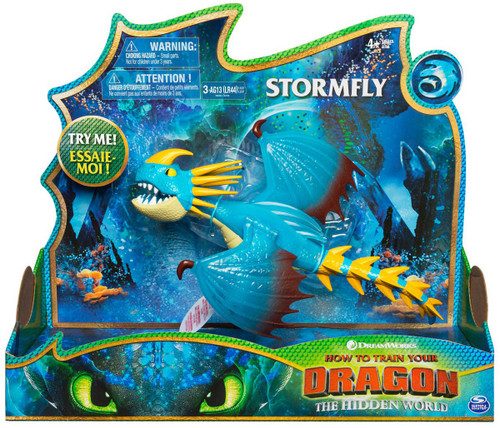How to Train Your Dragon The Hidden World Stormfly Deluxe Action Figure [Lights & Sounds]