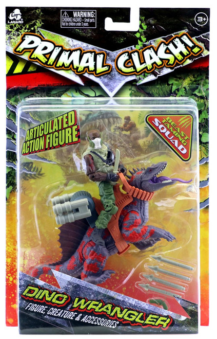 Primal Clash Dino Wrangler Trimetrodon Exclusive Action Figure