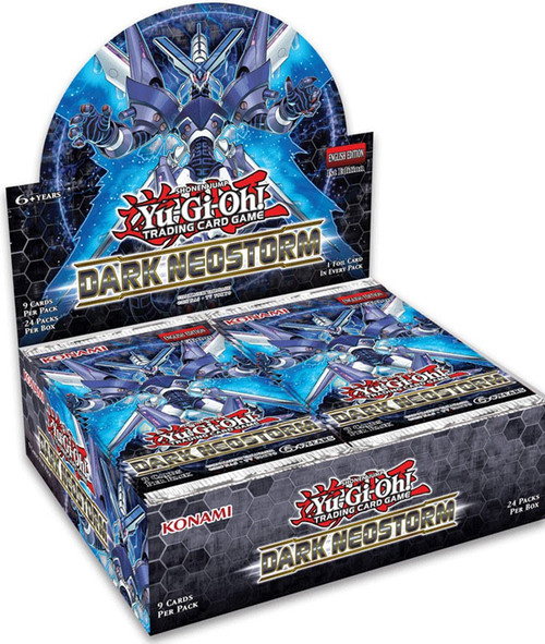 YuGiOh Trading Card Game Dark Neostorm Booster Box [24 Packs]