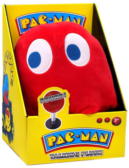 Pac Man Blinky Talking Plush with Sound [Red Ghost]