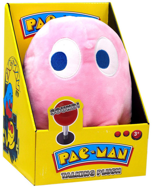 Pac Man Pinky Talking Plush with Sound