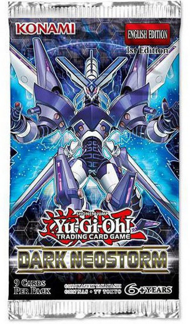 YuGiOh Trading Card Game Dark Neostorm Booster Pack