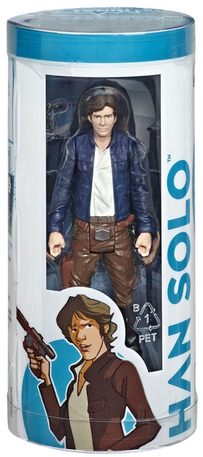 Star Wars Story in a Box Han Solo Action Figure & Comic