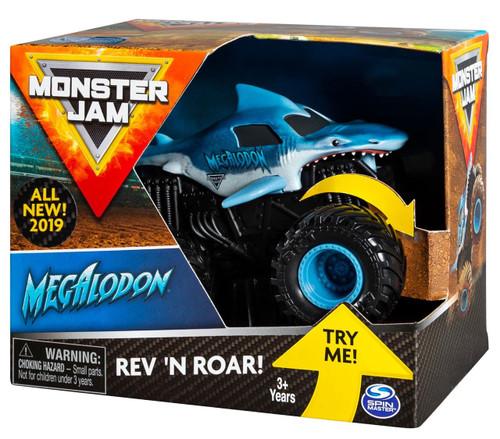 Monster Jam Rev 'N Roar Megalodon Vehicle