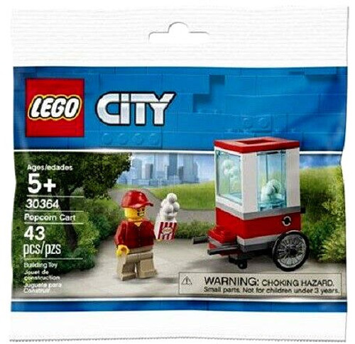 LEGO City Popcorn Cart Mini Set #30364