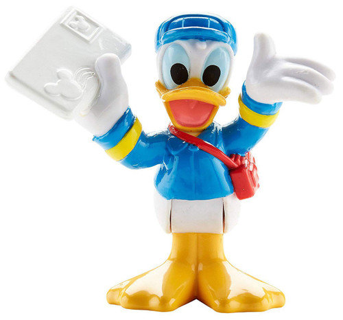 Fisher Price Disney Mickey Mouse Clubhouse Postman Donald 3-Inch Mini Figure