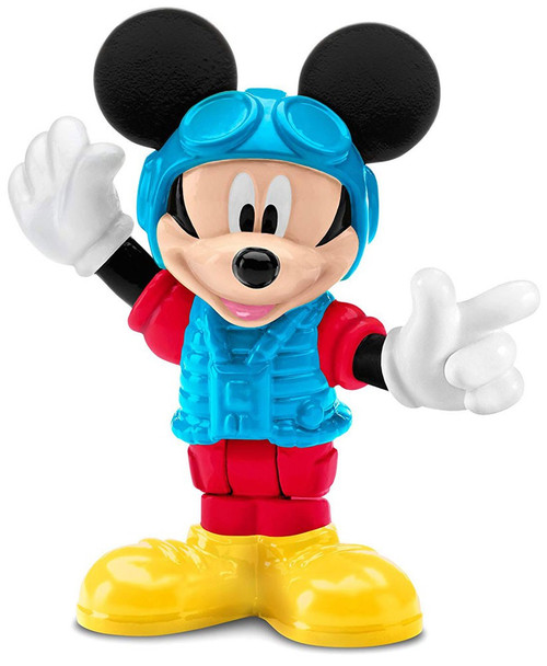 Fisher Price Disney Mickey Mouse Clubhouse Pilot Mickey 3-Inch Mini Figure