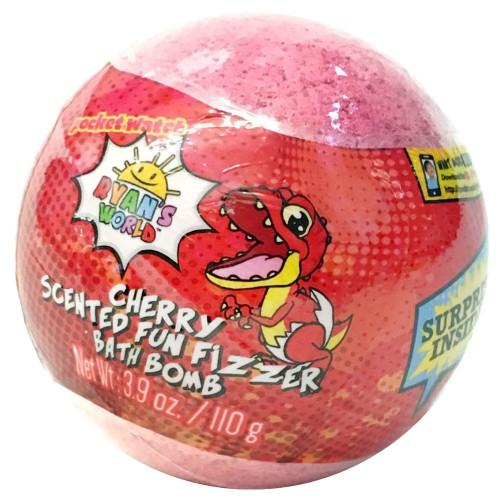 Ryan's World Cherry Scented Fun Fizzer Bath Bomb