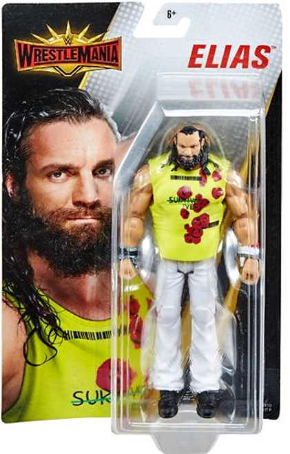 """NEW CHOICE OF 6 CHARACTERS MATTEL WWE WRESTLEMANIA CORE 6/"""" ACTION FIGURES"""