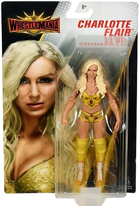 WWE Wrestling WrestleMania 35 Charlotte Flair Action Figure
