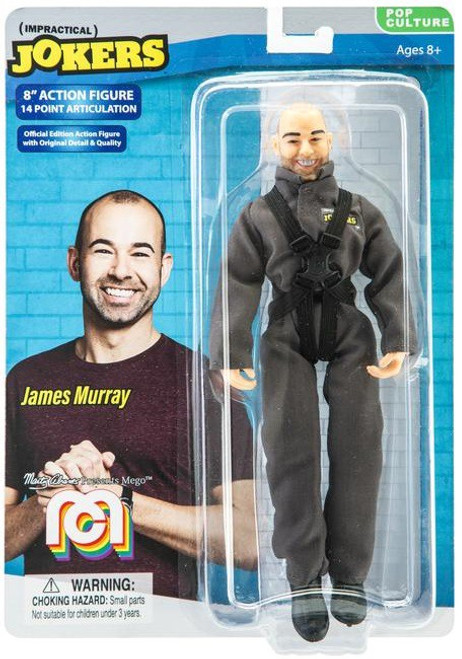 "Impractical Jokers Pop Culture James ""Murr"" Murray Action Figure"