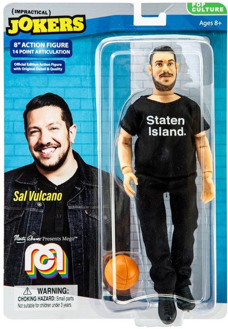 Impractical Jokers Pop Culture Sal Vulcano Action Figure