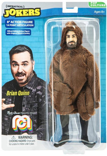 Impractical Jokers Pop Culture Brian Quinn Action Figure