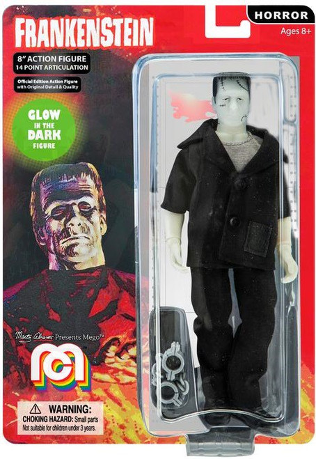 Horror Frankenstein Action Figure [Grey Undershirt, Glow In The Dark]