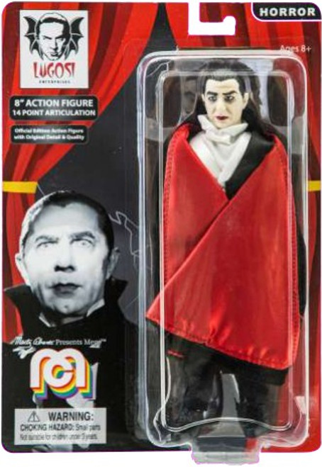 Horror Dracula Action Figure [With Red Cape]
