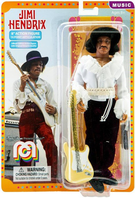 Music Jimi Hendrix Action Figure [1968 Miami Festival, WIth Guitar]