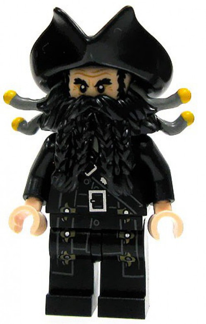 LEGO Pirates of the Caribbean Blackbeard Minifigure [No Accessories Loose]