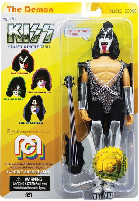 KISS Music Icons Gene Simmons Action Figure [The Demon]