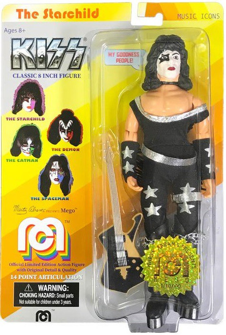 KISS Music Icons Paul Stanley Action Figure [The Starchild]