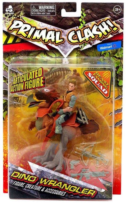 Primal Clash Dino Wrangler Titanis Exclusive Action Figure