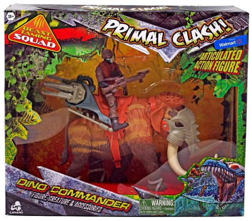 Primal Clash Dino Commander Mammoth Exclusive Action Figure