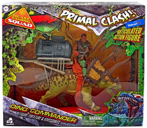 Primal Clash Dino Commander Triceratops Exclusive Action Figure