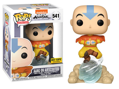 Funko Avatar The Last Airbender POP! Animation Aang on Airscooter Exclusive Vinyl Figure #541