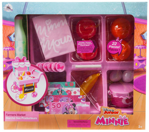 Disney Minnie Mouse Farmers Market Stand Exclusive Playset