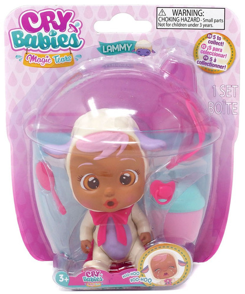 Cry Babies Magic Tears Lammy Mini Doll