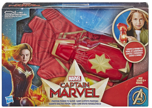 Captain Marvel Photon Power FX Glove Roleplay Toy