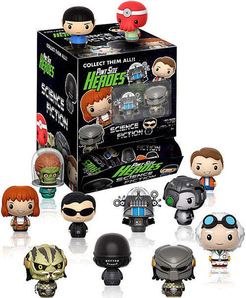 Funko Pint Size Heroes Science Fiction Mystery Box [24 Packs]