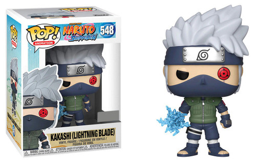 Funko Naruto POP! Anime Kakashi Exclusive Vinyl Figure [Lightning Blade, Damaged Package]