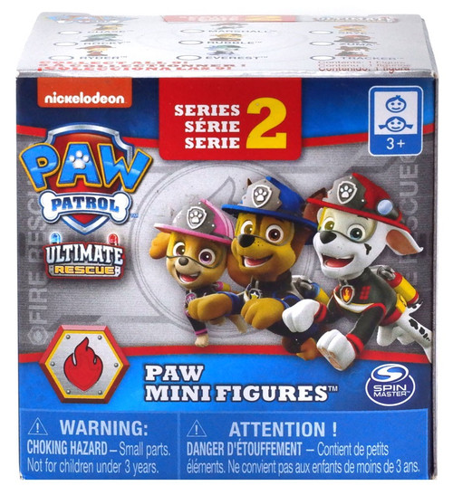 2 Paw Patrol Mighty Pups Charged Up Series 6 Paw Mini Rescue Figures Blind Box
