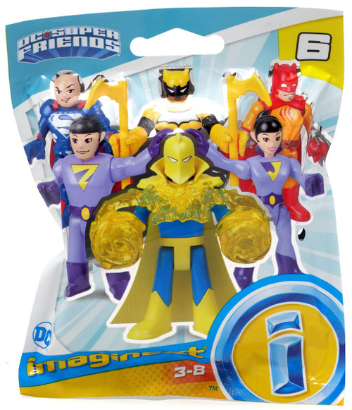 Fisher Price DC Super Friends Imaginext Series 6 Collectible Figure Mystery Pack