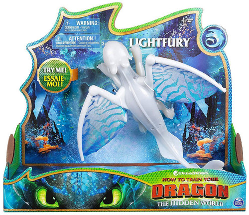 How to Train Your Dragon The Hidden World Lightfury Deluxe Action Figure [Lights & Sounds]