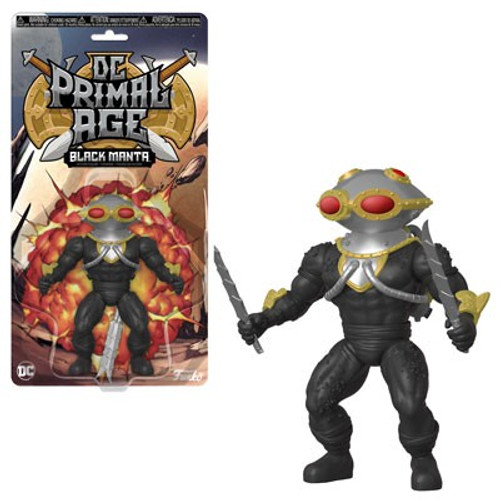 Funko DC Primal Age Black Manta Action Figure