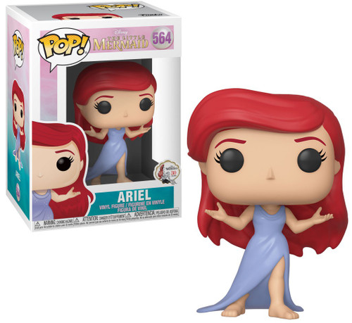 Funko The Little Mermaid POP! Disney Ariel Vinyl Figure [Purple Dress]
